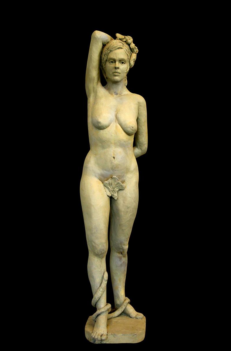 "Eve, bronze, 30"" H"