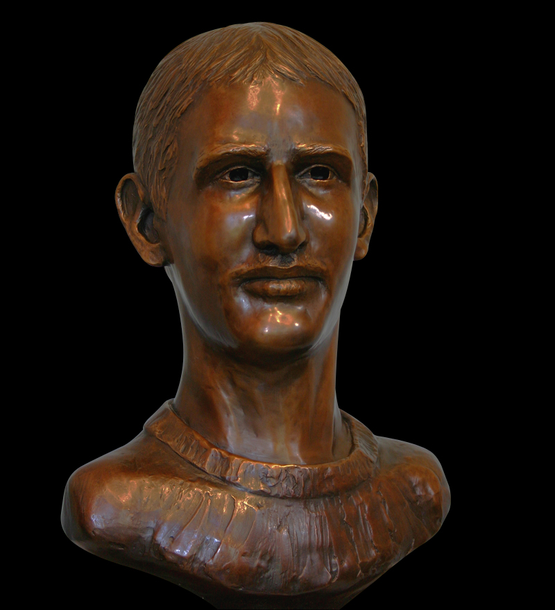 Anthony, bronze, life-size