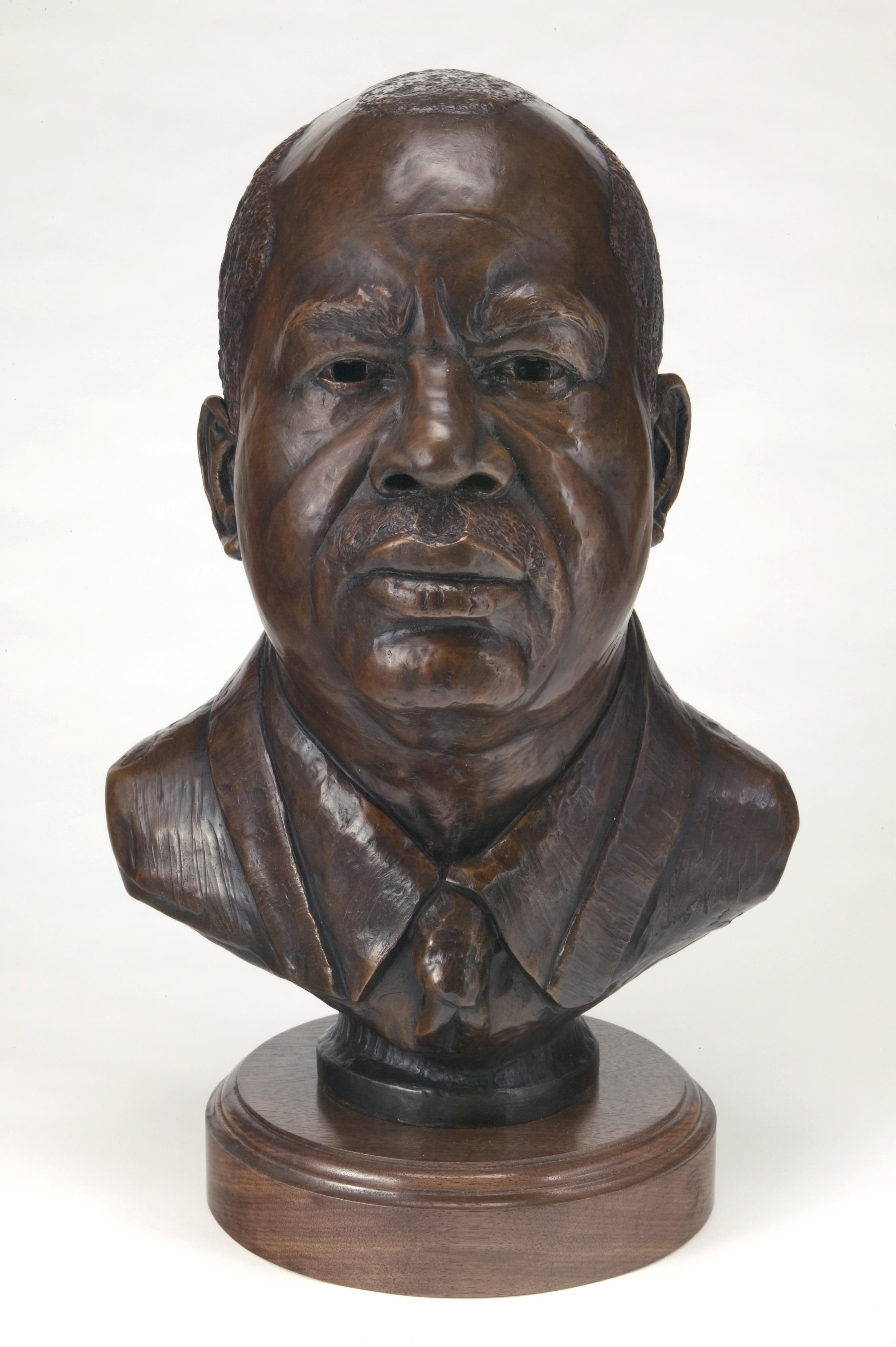 Walter,  bronze, life-size