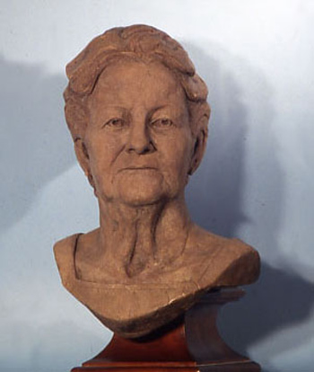 Olga, bronze, life-size