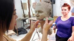 sculpting plastic surgery Kim Bernadas Sculpture