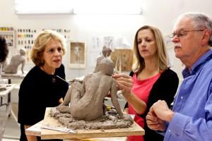 sculpture classes new orleans Kim Bernadas Artist