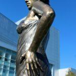 Greek muses sculpture by artist Kim bernadas