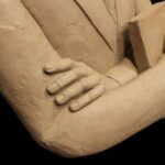 Pastor Blakes sculpture by artist kim bernadas