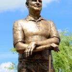 Stanley Ray Sculpture by artist kim bernadas